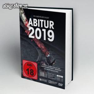 Abi ab 18 Abi Motto / Abibuch Cover Entwurf von abigrafen.de®