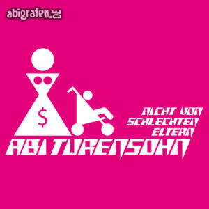 ABIturensohn Abi Motto / Abisprüche Entwurf von abigrafen.de®