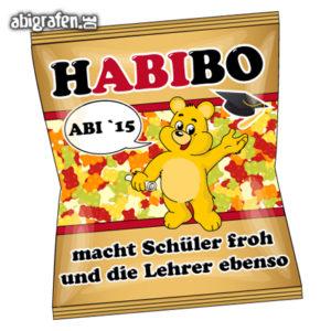 HABIbo Abi Motto / Abisprüche Entwurf von abigrafen.de®