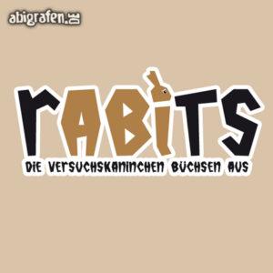 rABIts Abi Motto / Abisprüche Entwurf von abigrafen.de®