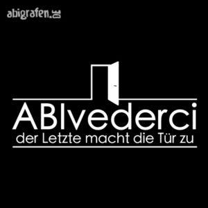 ABIvederci Abi Motto / Abisprüche Entwurf von abigrafen.de®