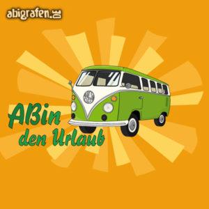 ABIn den Urlaub Abi Motto / Abisprüche Entwurf von abigrafen.de®