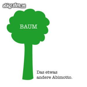 Baum Abi Motto / Abisprüche Entwurf von abigrafen.de®