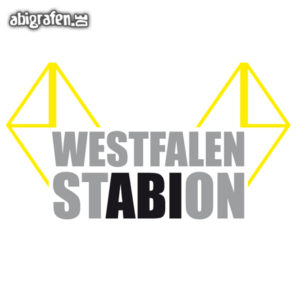 Westfalen StABIon Abi Motto / Abisprüche Entwurf von abigrafen.de®