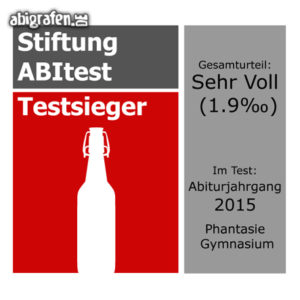Stiftung ABItest Abi Motto / Abisprüche Entwurf von abigrafen.de®