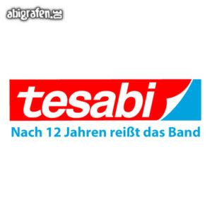 Tesabi Abi Motto / Abisprüche Entwurf von abigrafen.de®