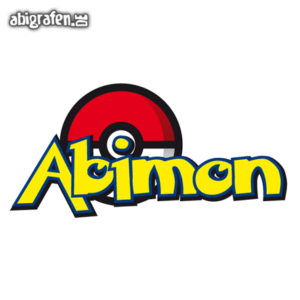 ABImon Abi Motto / Abisprüche Entwurf von abigrafen.de®