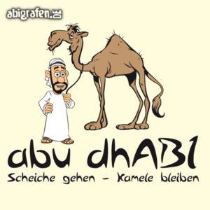 AbudhABI - Abi Motto / Abisprüche Entwurf von abigrafen.de®