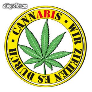 CannABIs Abi Motto / Abisprüche Entwurf von abigrafen.de®