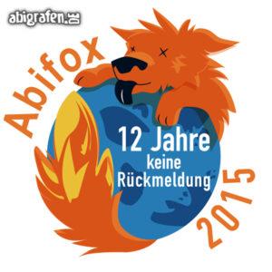 ABIfox Abi Motto / Abisprüche Entwurf von abigrafen.de®
