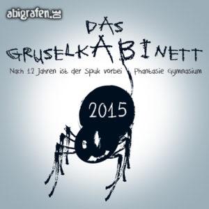 GruselkABInett Abi Motto / Abisprüche Entwurf von abigrafen.de®