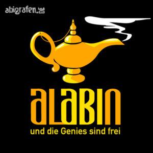 AlABIn Abi Motto / Abisprüche Entwurf von abigrafen.de®
