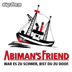 ABImen's Friend Abi Motto / Abisprüche Entwurf von abigrafen.de®