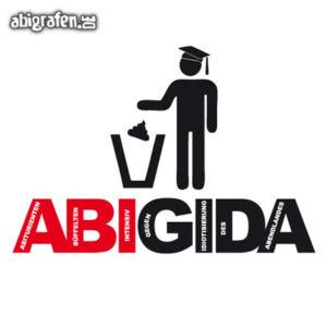 ABIGIDA Abi Motto / Abisprüche Entwurf von abigrafen.de®