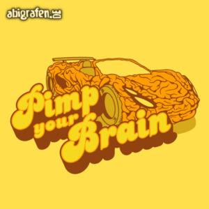 Pimp your Brain Abi Motto / Abisprüche Entwurf von abigrafen.de®