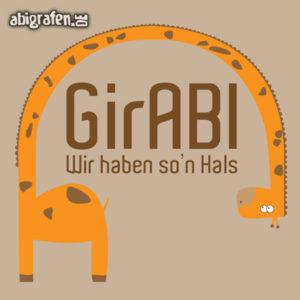 GirABI Abi Motto / Abisprüche Entwurf von abigrafen.de®