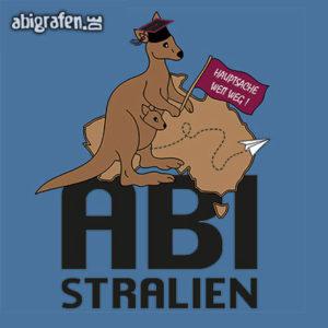 ABIstralien Abi Motto / Abisprüche Entwurf von abigrafen.de®