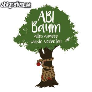 ABI Baum Abi Motto / Abisprüche Entwurf von abigrafen.de®