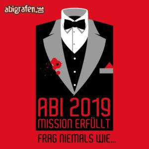 Mission erfüllt Abi Motto / Abisprüche Entwurf von abigrafen.de®