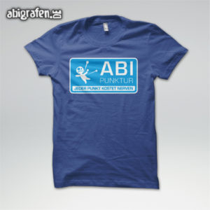 ABIpunktur Abi Motto / Abishirt Entwurf von abigrafen.de®