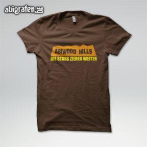 ABIwood Hills Abi Motto / Abishirt Entwurf von abigrafen.de®