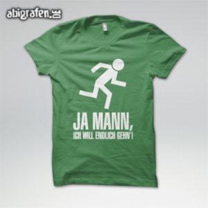 Ja Mann Abi Motto / Abishirt Entwurf von abigrafen.de®