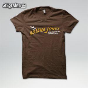 ABIana Jones Abi Motto / Abishirt Entwurf von abigrafen.de®