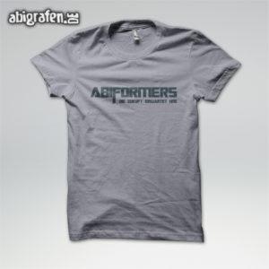 Abiformers Abi Motto / Abishirt Entwurf von abigrafen.de®