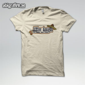ABIos Amigos Abi Motto / Abishirt Entwurf von abigrafen.de®