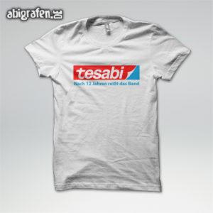 Tesabi Abi Motto / Abishirt Entwurf von abigrafen.de®