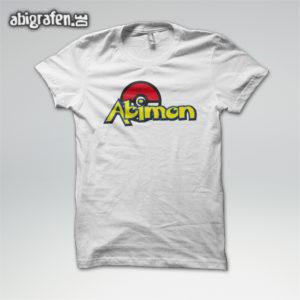 ABImon Abi Motto / Abishirt Entwurf von abigrafen.de®