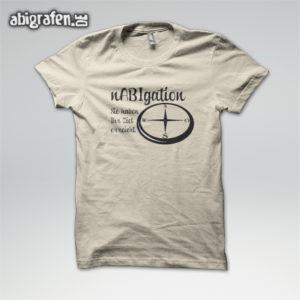 NABigation Abi Motto / Abishirt Entwurf von abigrafen.de®