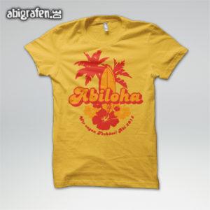 ABIloha Abi Motto / Abishirt Entwurf von abigrafen.de®
