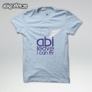 ABIlieve i can fly Abi Motto / Abishirt Entwurf von abigrafen.de®