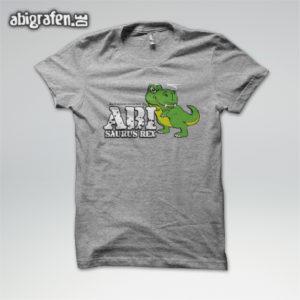 ABIsaurus Rex Abi Motto / Abishirt Entwurf von abigrafen.de®
