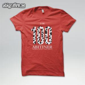 100 ABItiner Abi Motto / Abishirt Entwurf von abigrafen.de®