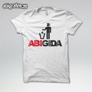 ABIGIDA Abi Motto / Abishirt Entwurf von abigrafen.de®