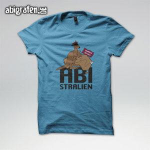 ABIstralien Abi Motto / Abishirt Entwurf von abigrafen.de®