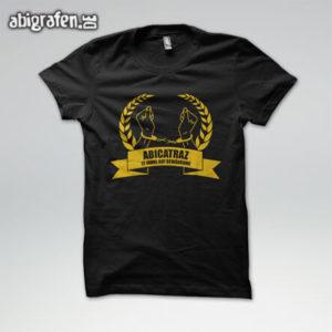 ABIcatraz Abi Motto / Abishirt Entwurf von abigrafen.de®