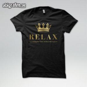 Relax Abi Motto / Abishirt Entwurf von abigrafen.de®