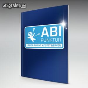 ABIpunktur Abi Motto / Abizeitung Cover Entwurf von abigrafen.de®
