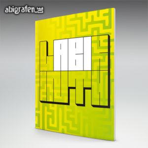 LABIrinth Abi Motto / Abizeitung Cover Entwurf von abigrafen.de®