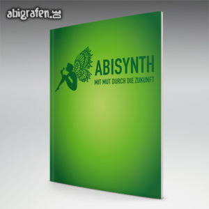 ABIsynth Abi Motto / Abizeitung Cover Entwurf von abigrafen.de®