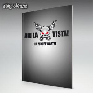 Abi la vista, baby Abi Motto / Abizeitung Cover Entwurf von abigrafen.de®