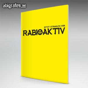 rABIoaktiv Abi Motto / Abizeitung Cover Entwurf von abigrafen.de®