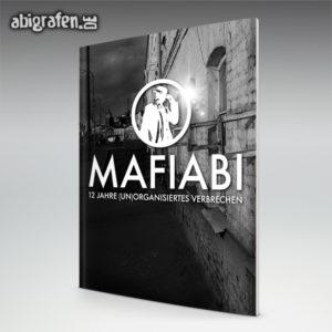 MafiABI Abi Motto / Abizeitung Cover Entwurf von abigrafen.de®