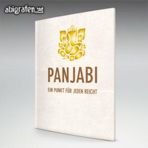 PanjABI Abi Motto / Abizeitung Cover Entwurf von abigrafen.de®