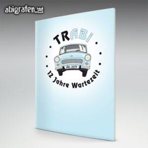trABI Abi Motto / Abizeitung Cover Entwurf von abigrafen.de®