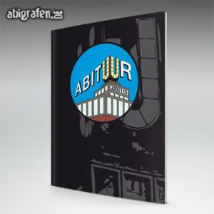ABItur Abi Motto / Abizeitung Cover Entwurf von abigrafen.de®