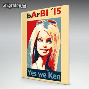 BArBIe Abi Motto / Abizeitung Cover Entwurf von abigrafen.de®